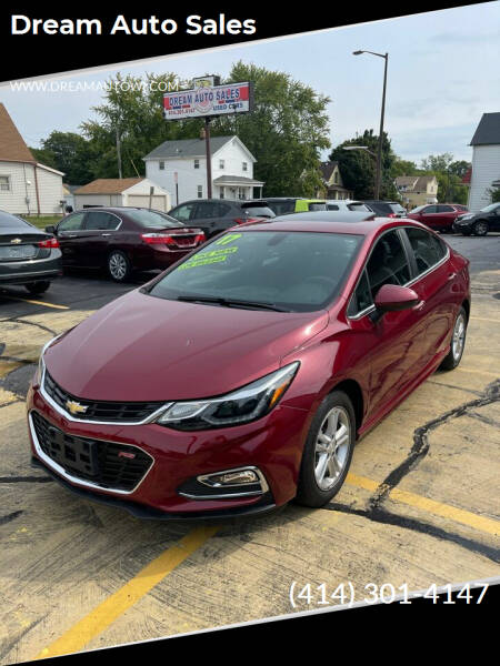 2017 Chevrolet Cruze for sale at Dream Auto Sales in South Milwaukee WI