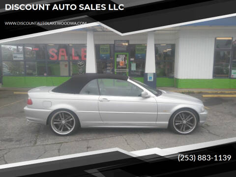 2002 BMW 3 Series for sale at DISCOUNT AUTO SALES LLC in Lakewood WA