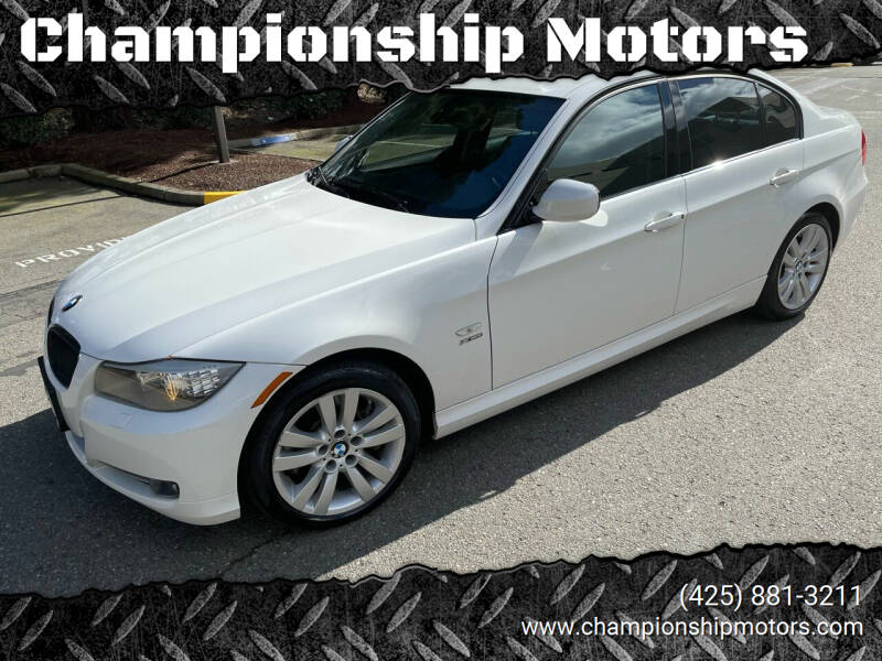2010 BMW 3 Series for sale at Championship Motors in Redmond WA