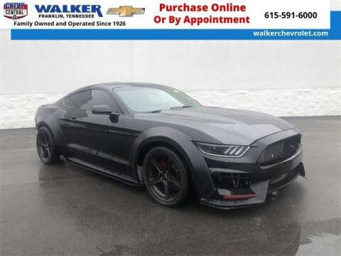 2016 Ford Mustang for sale at WALKER CHEVROLET in Franklin TN