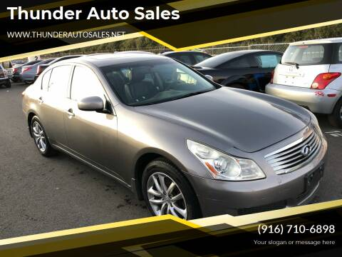 2007 Infiniti G35 for sale at Thunder Auto Sales in Sacramento CA