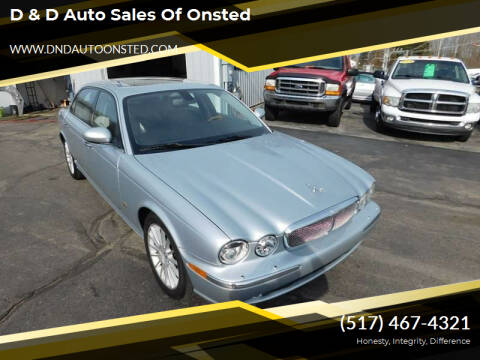2006 Jaguar XJ-Series for sale at D & D Auto Sales Of Onsted in Onsted MI
