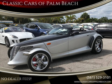 2000 Plymouth Prowler for sale at Classic Cars of Palm Beach in Jupiter FL