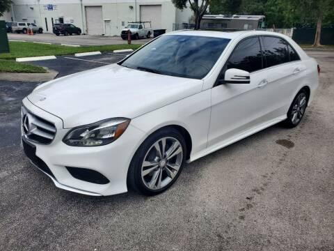 2016 Mercedes-Benz E-Class for sale at Best Price Car Dealer in Hallandale Beach FL