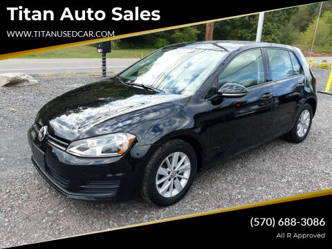 2016 Volkswagen Golf for sale at Titan Auto Sales in Berwick PA