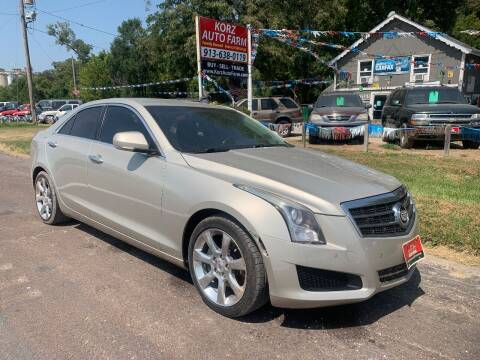 2013 Cadillac ATS for sale at Korz Auto Farm in Kansas City KS