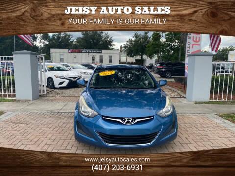 2015 Hyundai Elantra for sale at JEISY AUTO SALES in Orlando FL