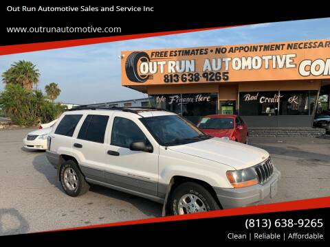 2000 Jeep Grand Cherokee for sale at Out Run Automotive Sales and Service Inc in Tampa FL