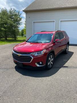 2018 Chevrolet Traverse for sale at Interstate Fleet Inc. Auto Sales in Colmar PA