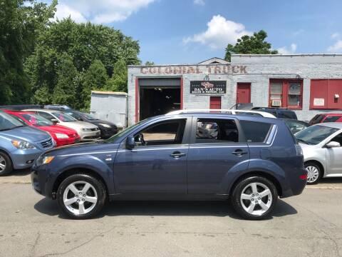 2008 Mitsubishi Outlander for sale at Dan's Auto Sales and Repair LLC in East Hartford CT