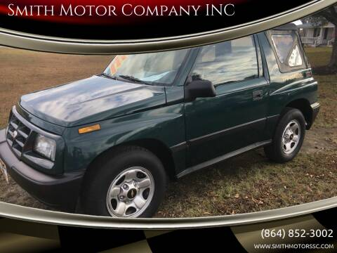 1998 Chevrolet Tracker for sale at Smith Motor Company INC in Mc Cormick SC