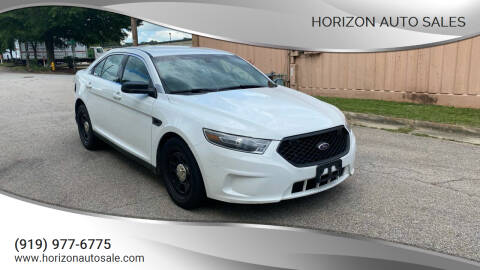 2016 Ford Taurus for sale at Horizon Auto Sales in Raleigh NC