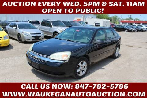 2005 Chevrolet Malibu Maxx for sale at Waukegan Auto Auction in Waukegan IL