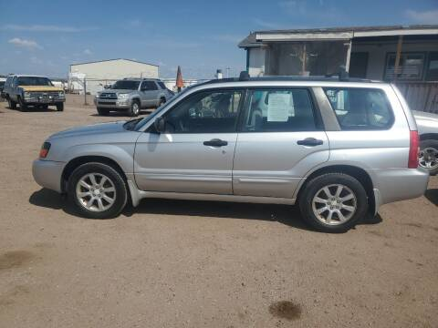 2005 Subaru Forester for sale at PYRAMID MOTORS - Fountain Lot in Fountain CO