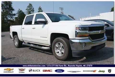 2018 Chevrolet Silverado 1500 for sale at WHITE MOTORS INC in Roanoke Rapids NC