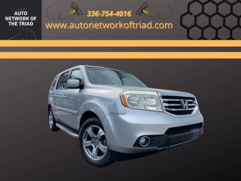 2012 Honda Pilot for sale at Auto Network of the Triad in Walkertown NC