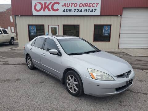 2003 Honda Accord for sale at OKC Auto Direct in Oklahoma City OK