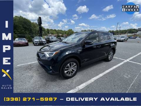 2018 Toyota RAV4 Hybrid for sale at Impex Auto Sales in Greensboro NC