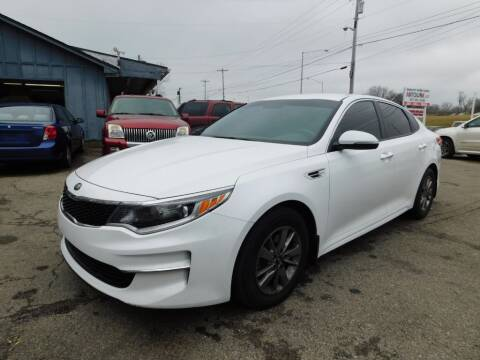 2016 Kia Optima for sale at AutoLink LLC in Dayton OH