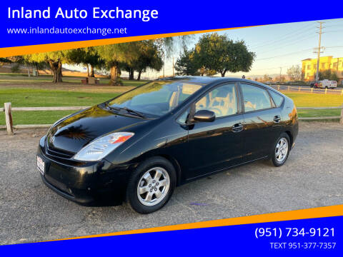 2004 Toyota Prius for sale at Inland Auto Exchange in Norco CA