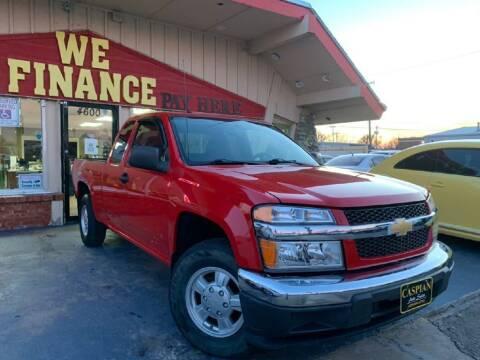 2007 Chevrolet Colorado for sale at Caspian Auto Sales in Oklahoma City OK