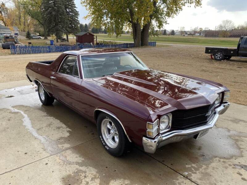 1971 Chevrolet El Camino for sale at B & B Auto Sales in Brookings SD