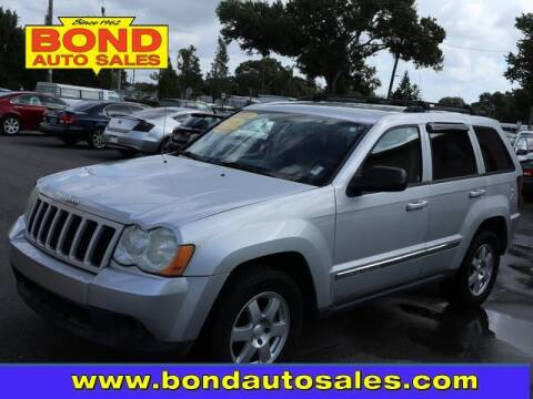 2010 Jeep Grand Cherokee for sale at Bond Auto Sales in St Petersburg FL