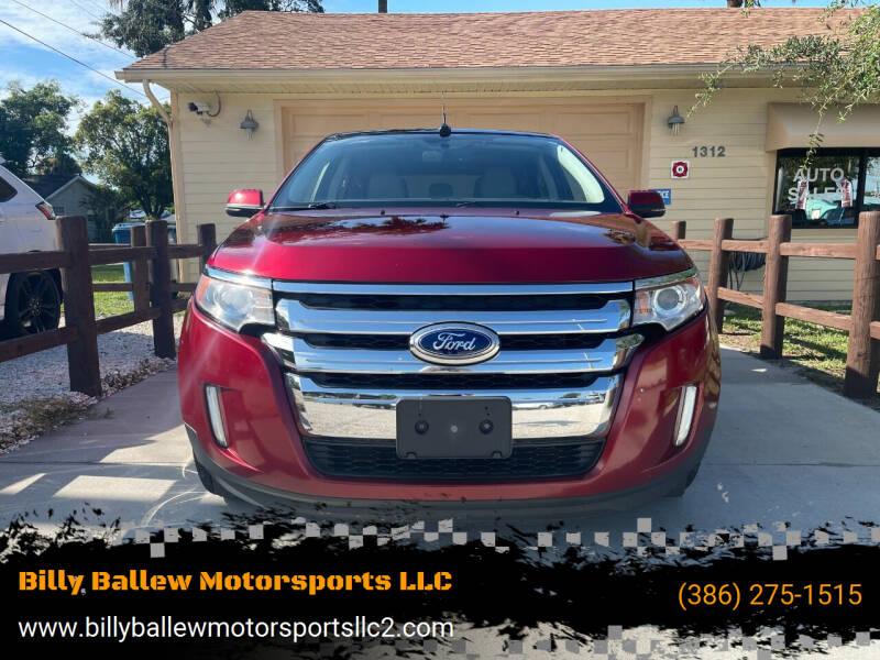 2013 Ford Edge for sale at Billy Ballew Motorsports LLC in Daytona Beach FL