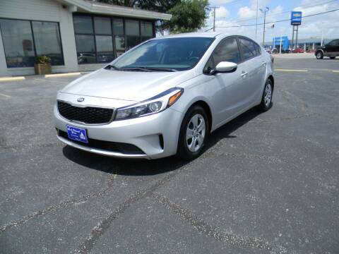 2017 Kia Forte for sale at MARK HOLCOMB  GROUP PRE-OWNED in Waco TX