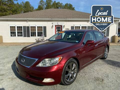2008 Lexus LS 460 for sale at Premier Auto Solutions & Sales in Quinton VA