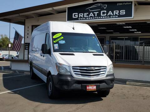 2015 Freightliner Sprinter Cargo for sale at Great Cars in Sacramento CA