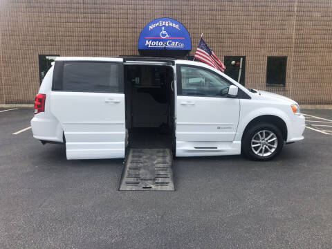2016 Dodge Grand Caravan for sale at New England Motor Car Company in Hudson NH