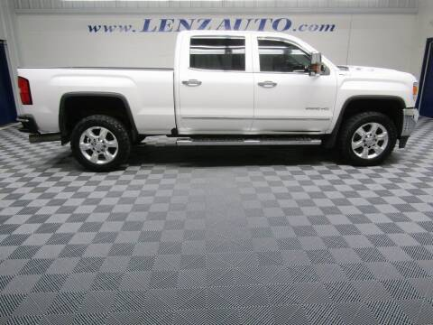 2018 GMC Sierra 2500HD for sale at LENZ TRUCK CENTER in Fond Du Lac WI