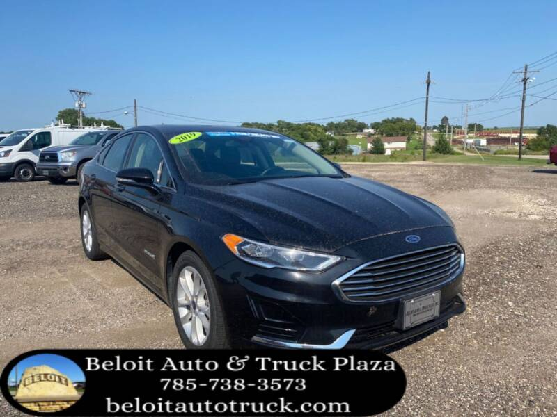 2019 Ford Fusion Hybrid for sale at BELOIT AUTO & TRUCK PLAZA INC in Beloit KS
