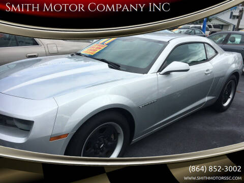 2011 Chevrolet Camaro for sale at Smith Motor Company INC in Mc Cormick SC