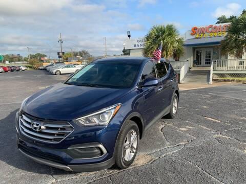 2018 Hyundai Santa Fe Sport for sale at Sun Coast City Auto Sales in Mobile AL