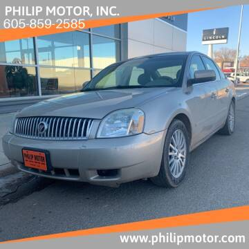 2005 Mercury Montego for sale at Philip Motor Inc in Philip SD