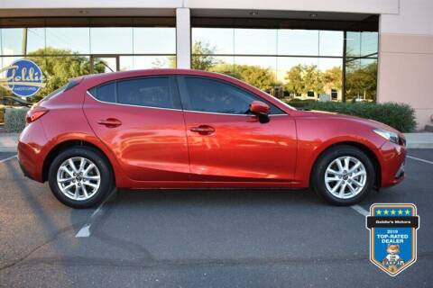 2015 Mazda MAZDA3 for sale at GOLDIES MOTORS in Phoenix AZ