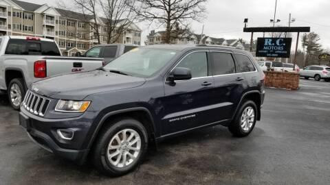 2015 Jeep Grand Cherokee for sale at R C Motors in Lunenburg MA