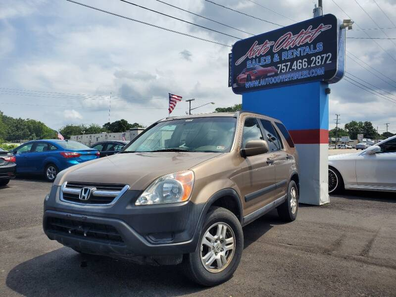2004 Honda CR-V for sale at Auto Outlet Sales and Rentals in Norfolk VA