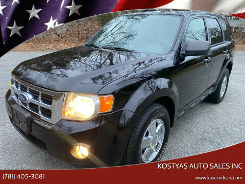 2010 Ford Escape for sale at Kostyas Auto Sales Inc in Swansea MA