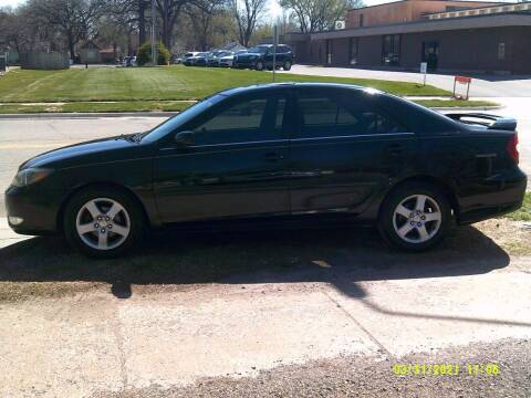 2004 Toyota Camry for sale at D & D Auto Sales in Topeka KS