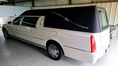 2007 Cadillac DTS Pro for sale at FRANSISCO & MONROE FUNERAL CAR SALES LLC in Tulsa OK