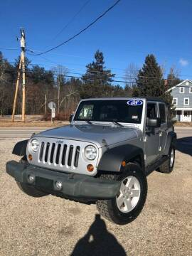 2008 Jeep Wrangler Unlimited for sale at Hornes Auto Sales LLC in Epping NH