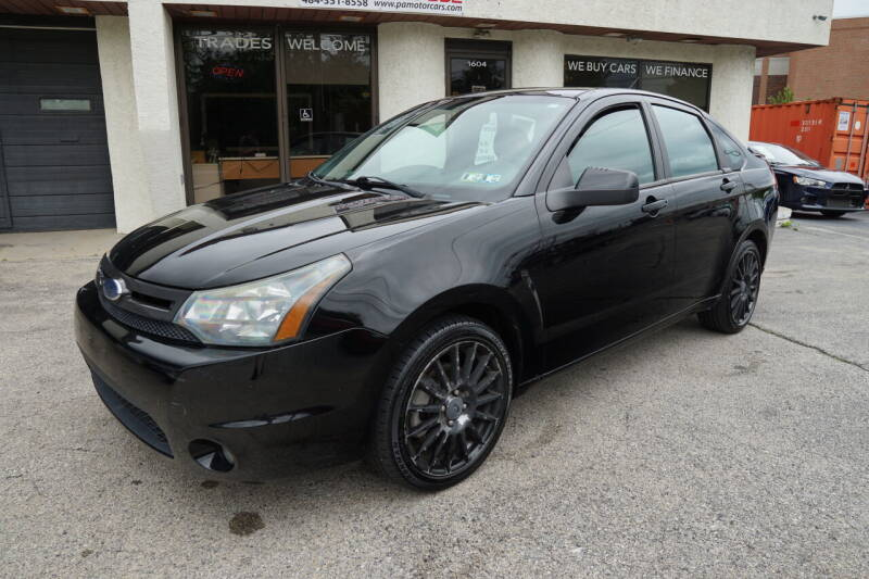 2010 Ford Focus for sale at PA Motorcars in Conshohocken PA