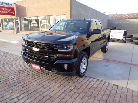 2018 Chevrolet Silverado 1500 for sale at Rediger Automotive in Milford NE