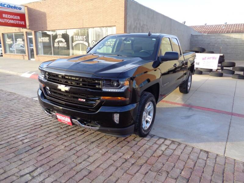2018 Chevrolet Silverado 1500 for sale at Rediger Automotive in Milford NE
