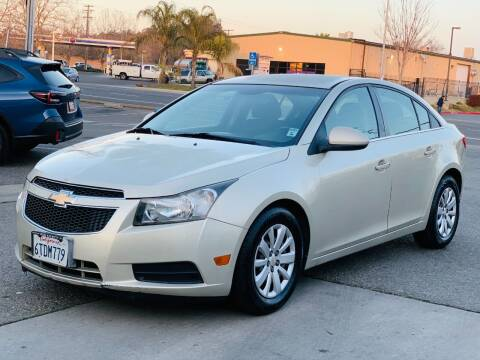 2011 Chevrolet Cruze for sale at United Star Motors in Sacramento CA