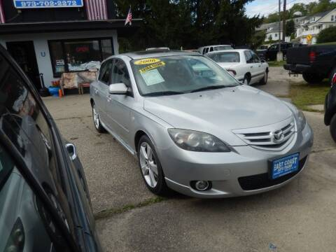 2006 Mazda MAZDA3 for sale at East Coast Auto Trader in Wantage NJ