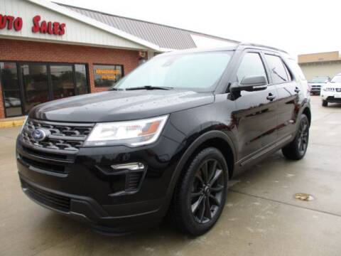 2018 Ford Explorer for sale at Eden's Auto Sales in Valley Center KS